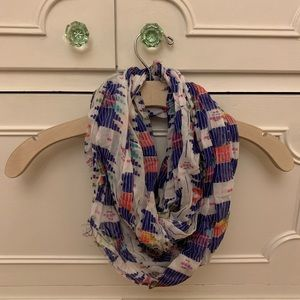 American Eagle Colorful Infinity Scarf